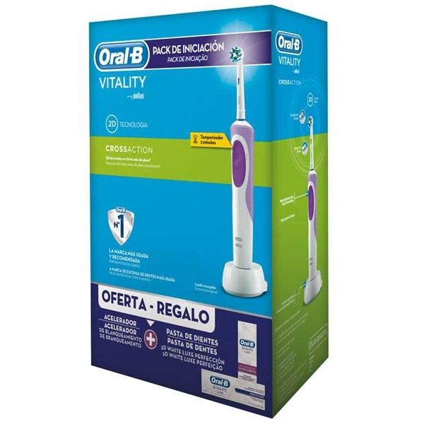 Oral-b vitality cross action pack -violeta